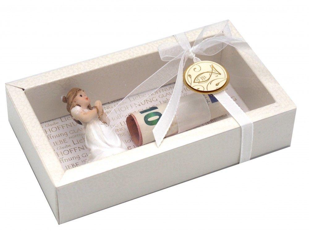 Geldgeschenk Verpackung Kommunion Mädchen