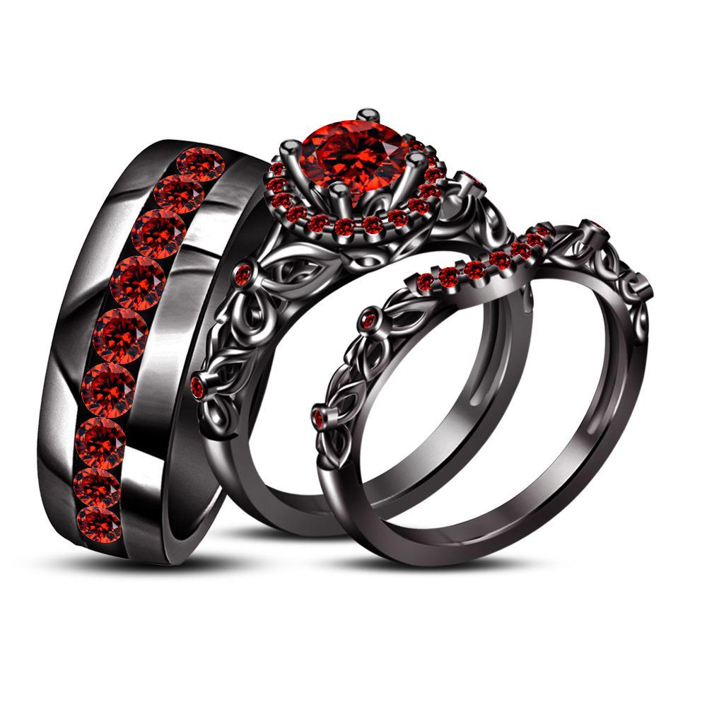 Una Bellesa Anillos Que Preciosos Gothic Engagement Ring Black Rings Black Gold Jewelry
