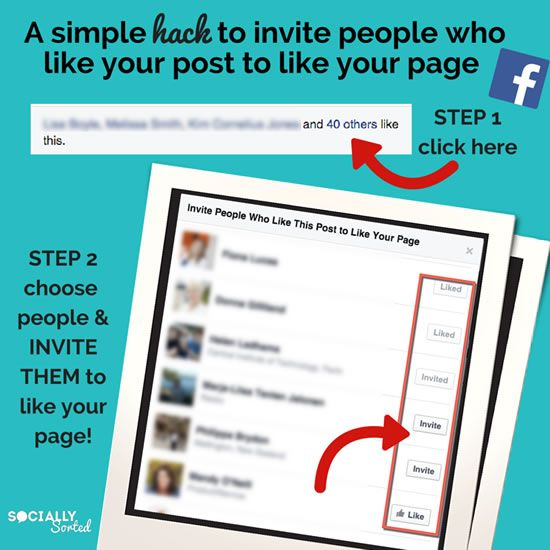 A SIMPLE LITTLE HACK TO TURN YOUR 'POST LIKERS' INTO 'PAGE LIKERS'