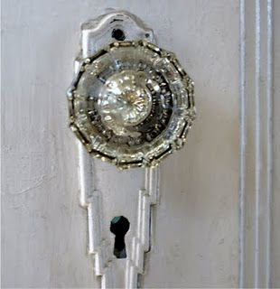 Incroyable Vintage Crystal Door Knob