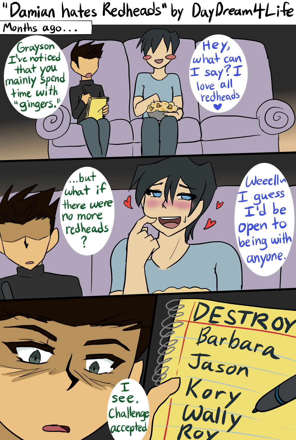 dick grayson | Tumblr | random | Batman family, Funny comics, Batman