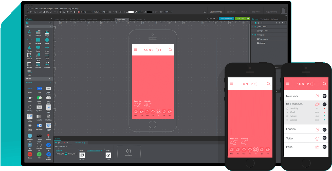 prototype faster communicate better wireframing tool for mobile apps - Mobile Mockup Tools