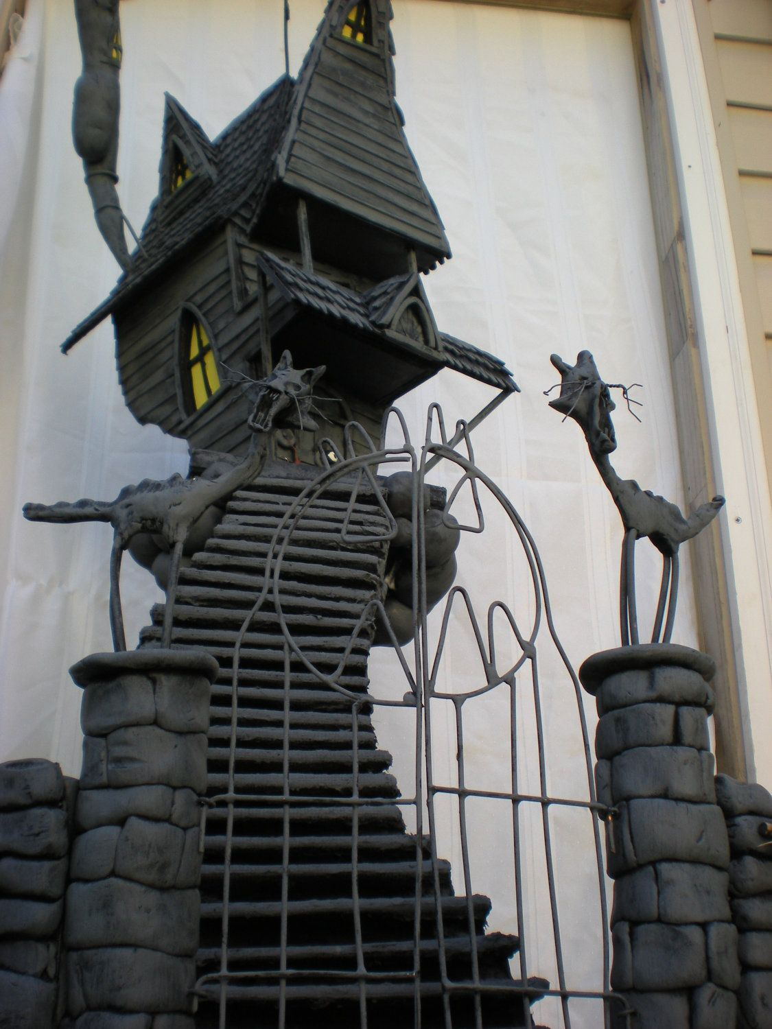 A Nightmare Before Christmas house sculpture by THE HAUNTED ...