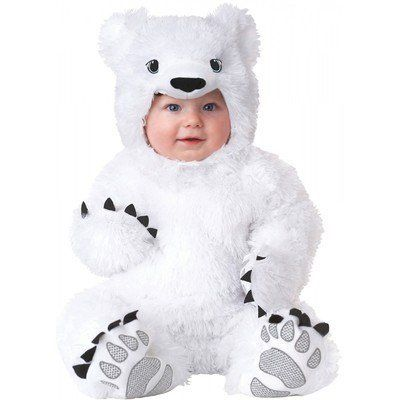 Animal Planet Polar Bear Toddler Costume for Halloween Pure Costumes  sc 1 st  Pinterest & Polar Bear Animal Planet Baby Infant Toddler Polar Bear Halloween ...