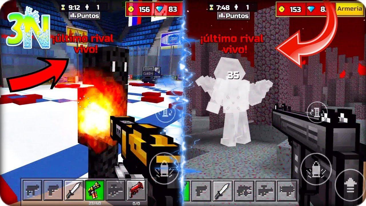 Pixel Gun 3d 198 Juegos Del Hambre Campeon Y Sobreviviente