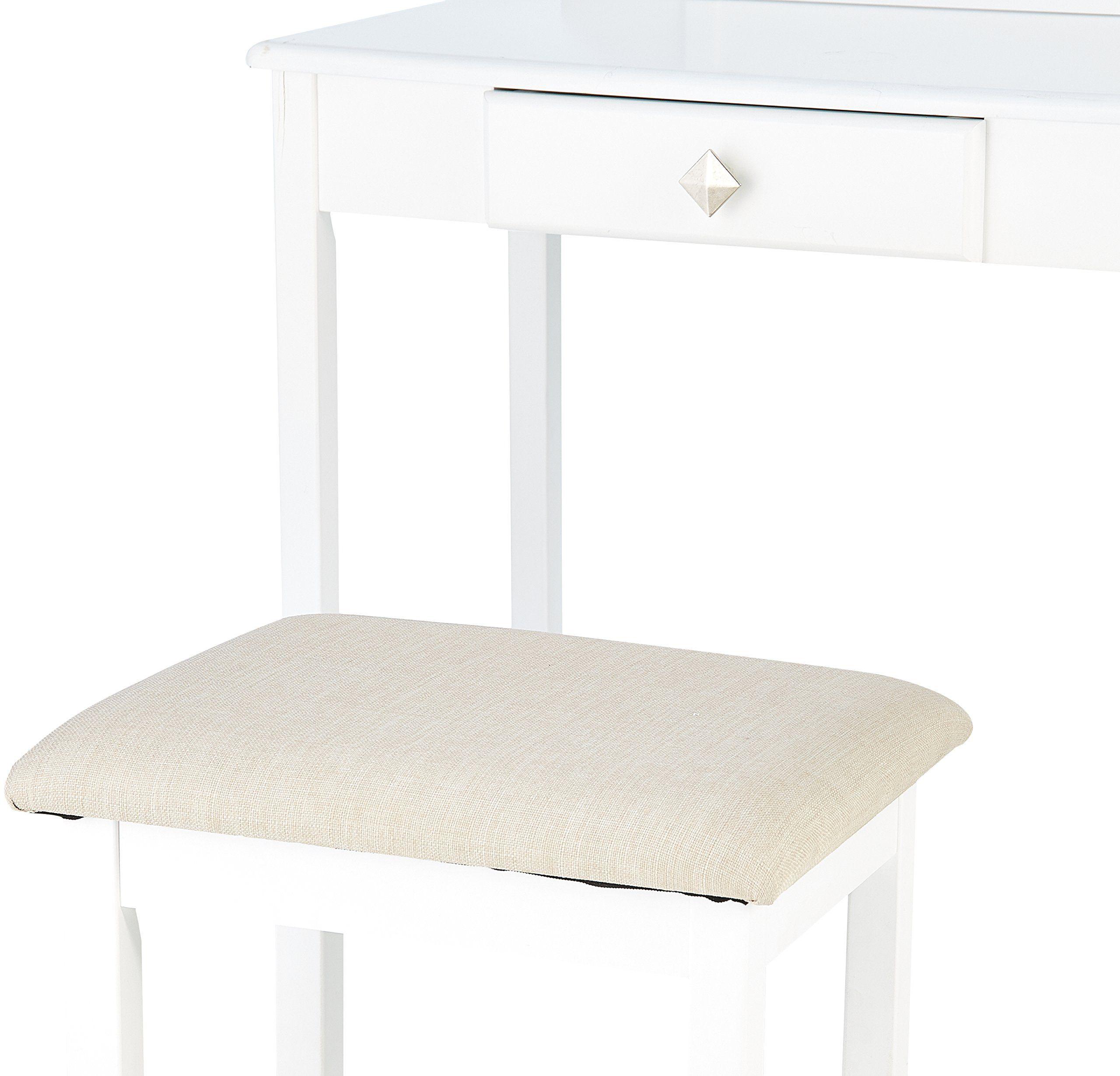 small vanity chair amazon