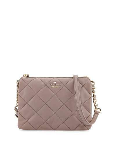 KATE SPADE Emerson Place Harbor Quilted Crossbody Bag 0bdb46f818661