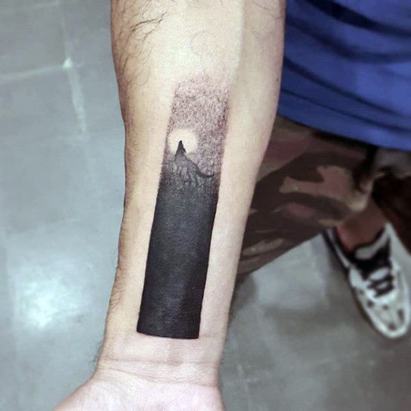 40 Wolf Forearm Tattoo Designs For Men Masculine Ink Ideas Ink