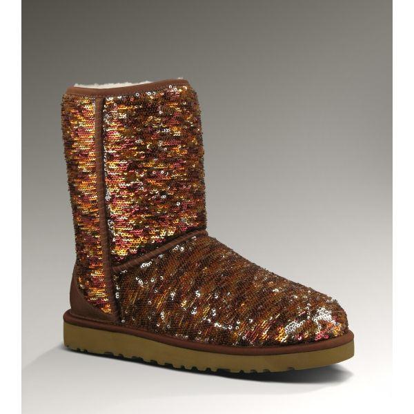 2013 Best Selling Ugg Short Sparkles Boots for Women