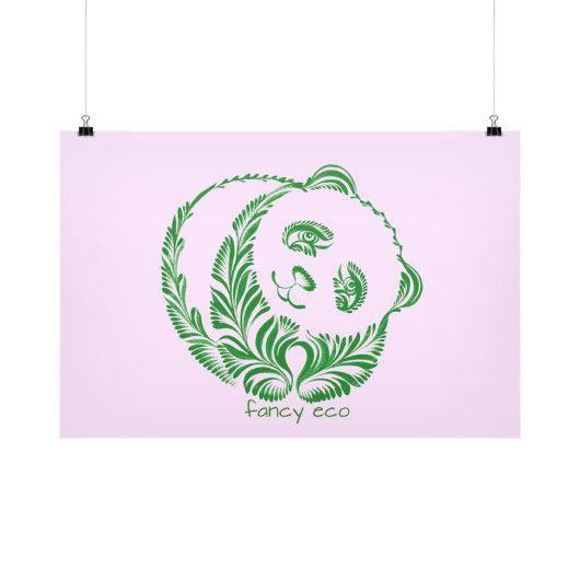 Panda Horizontal Fine Art Prints (Posters)