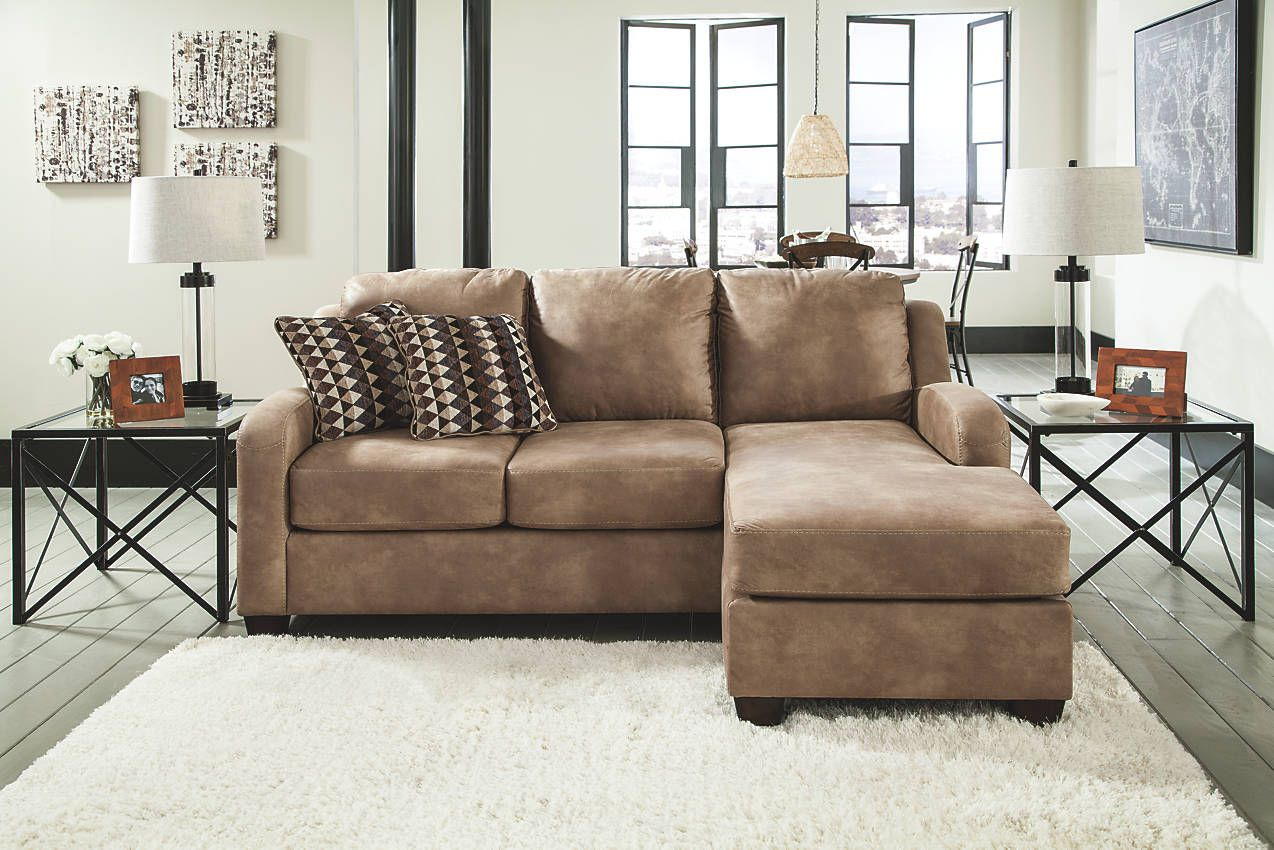 The Handsome Alturo Sofa By Ashley Furniture Features A Simple, Cozy Design  With Rounded Track Arms And A Right Side Chaise.