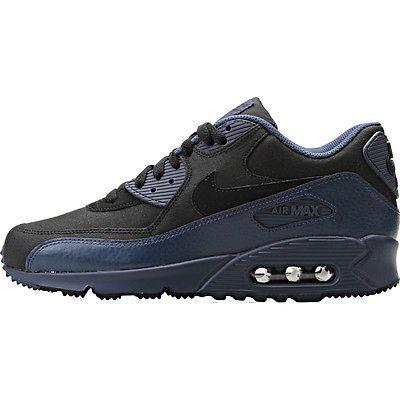 best cheap a9f81 80261 Nike Air Max 90 Winter Premium Mens 683282-404 Blue Black ...