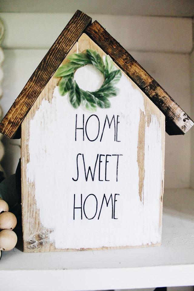 Wood Block House Kit
