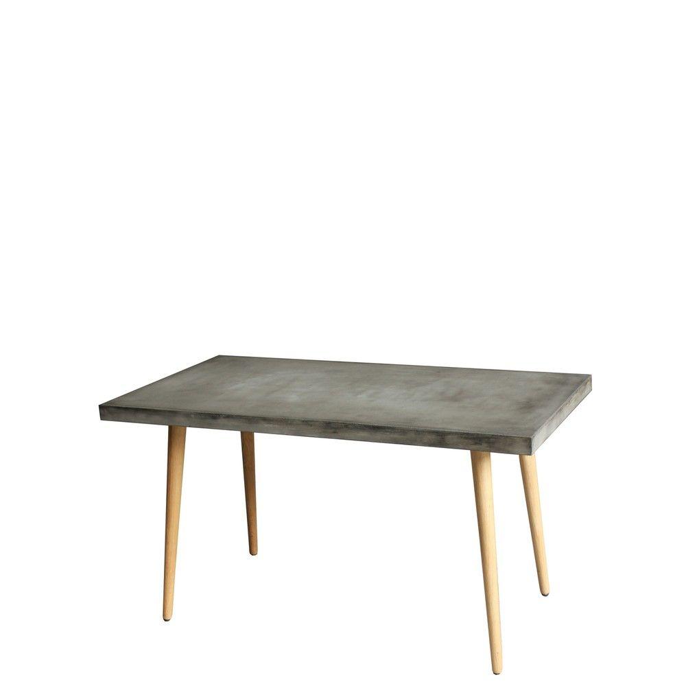 SIT Cement Esstisch 140x100 cm 9958-13 grau SIT Möbel günstig online ...