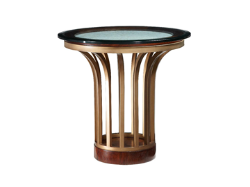 Metal And Stone End Table Fine Furniture Furniture End
