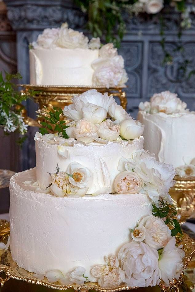 Cake From Prince Harry And Meghan Markles Royal Wedding