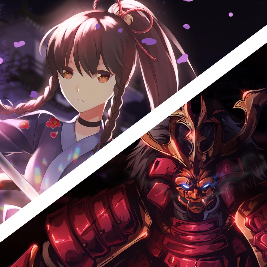 2X Samurai Lofi Chillhop Dynamic Theme only on