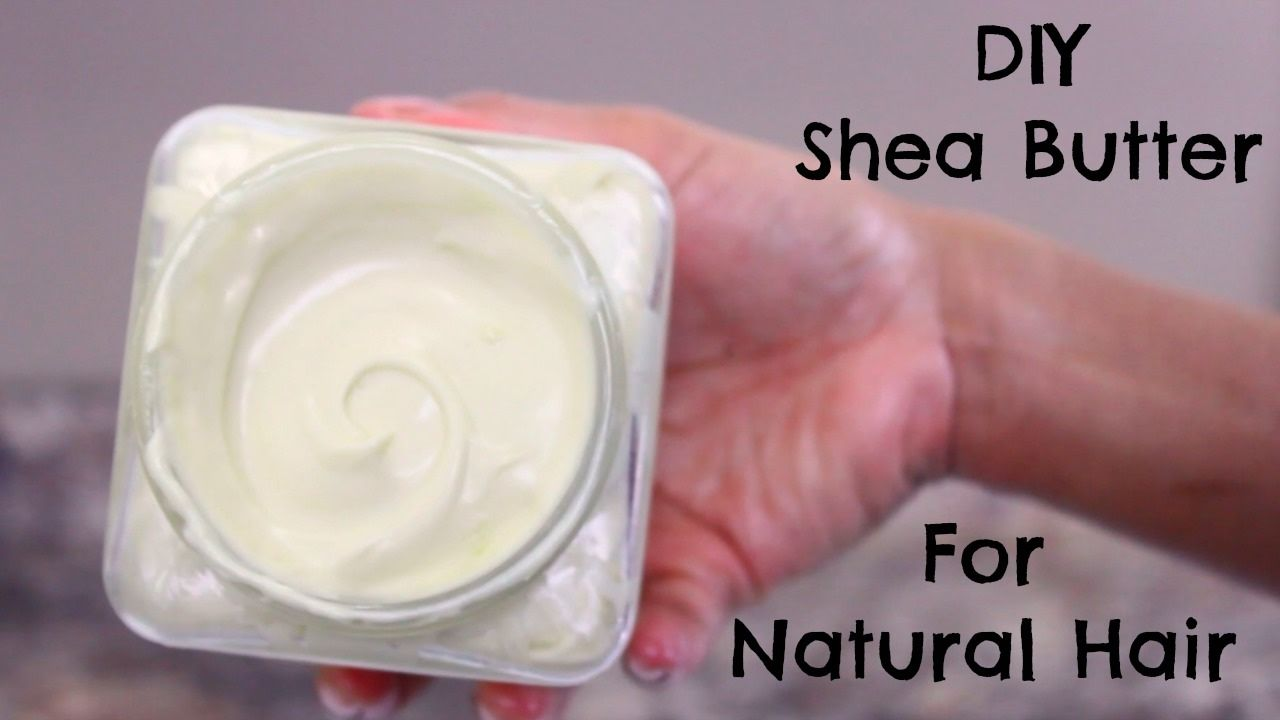 DIY Shea Butter Mix for Natural Hair Leavein Cream for