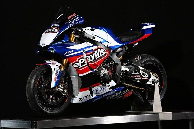 Tommy Hill's ePayMe Yamaha R1 for BSB 2016 with riders John Hopkins and Stuart Easton