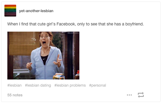 Or you're researching a new person. Lesbian dating