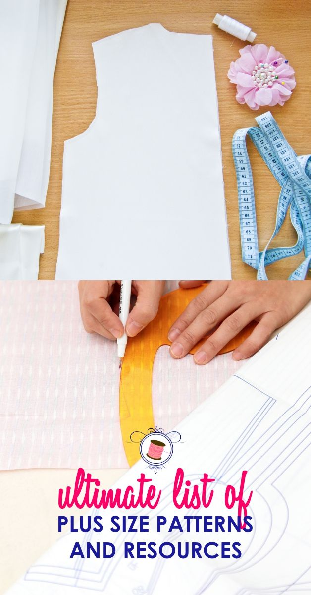 Ultimate List of Plus Size Sewing Resources | Moldes | Pinterest ...
