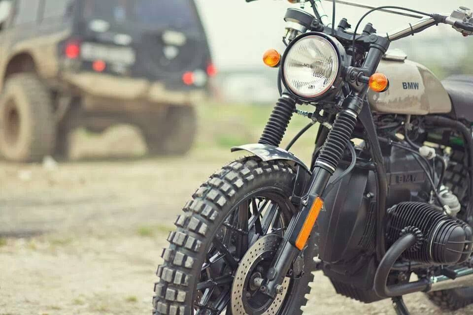 Modified Bmw Scrambler Motorcycle Bmw Cafe Racers Pinterest