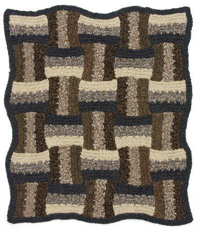 Free Knitting Pattern L32270 Multidirectional Afghan ...