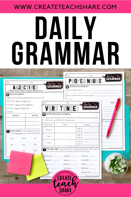Create Teach Share Teaching Writing Teaching Teaching Grammar [ 1500 x 1000 Pixel ]
