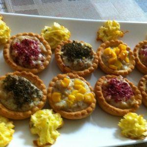 ميني تارت مالح أضيفت بواسطة أم رائد المقبلات Food Recipes Desserts