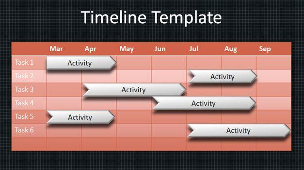 Timeline Powerpoint Template Purety In 2018 Pinterest