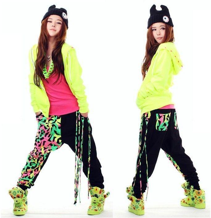 Women harem pants   dance wear sweatpants, personality casual loose hip hop  pants young girls kids, XS-XXL dance pants US  28.00 5ca70812cab