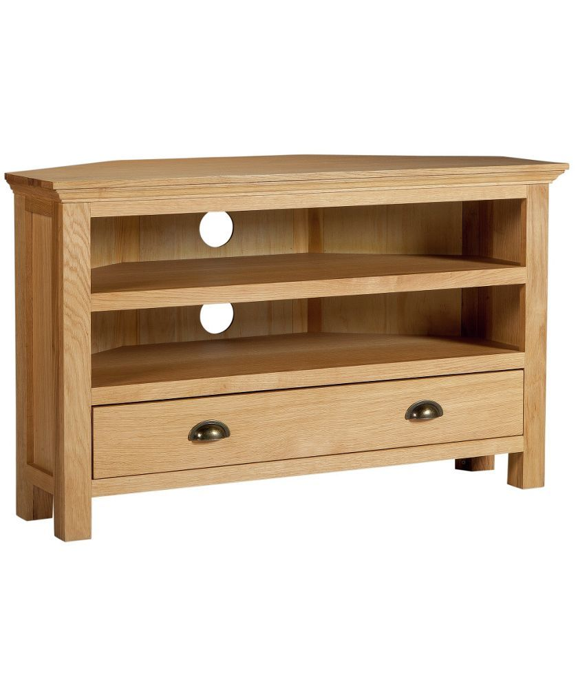 Best Buy Westminster 1 Drawer Corner Tv Unit Oak Oak Veneer 400 x 300