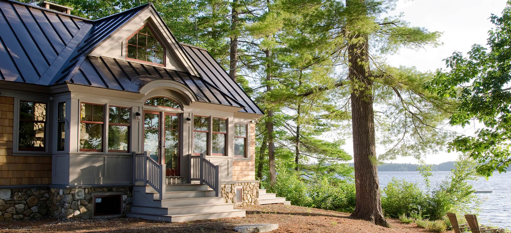 beautiful lake house with neutral siding colors top small on lake home colors id=66411