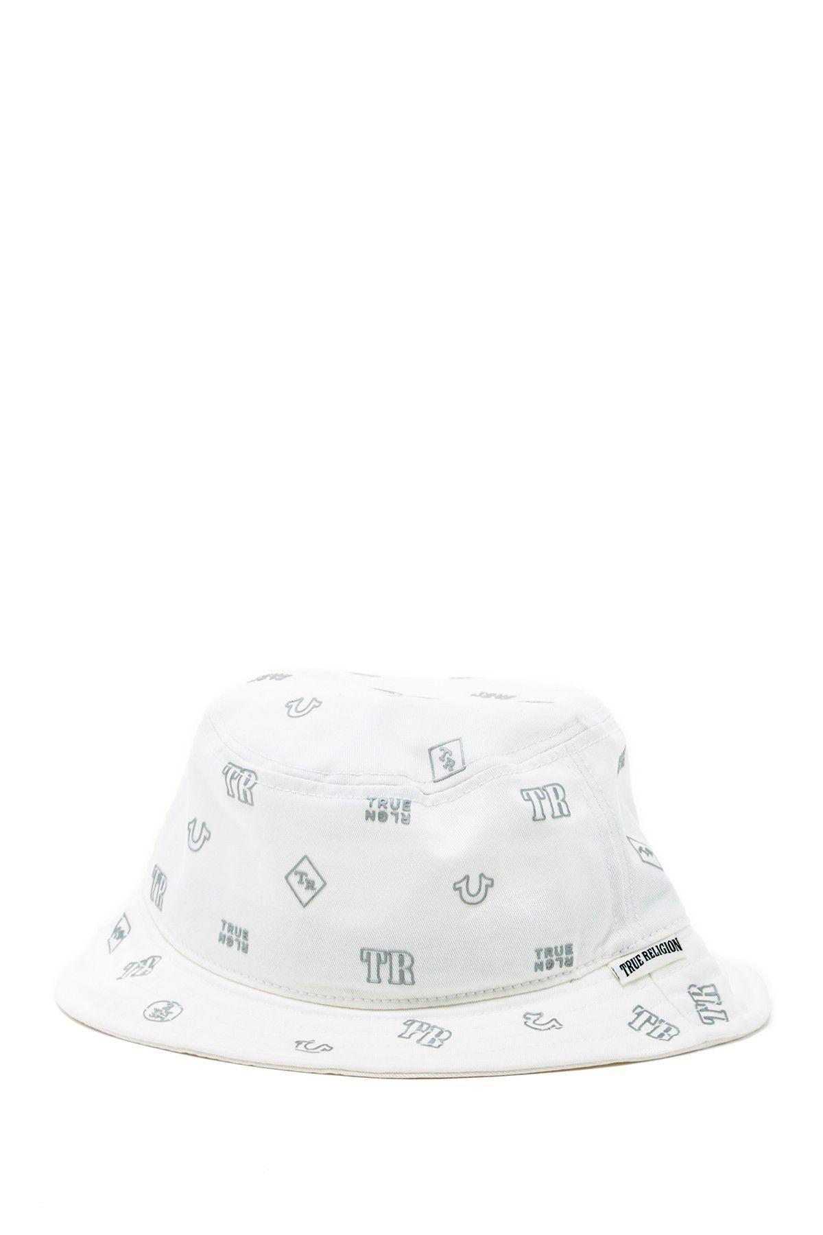 5cee23ed Bucket Hat, True Religion, Monogram, Nordstrom Rack, Hats, Monogram Tote,
