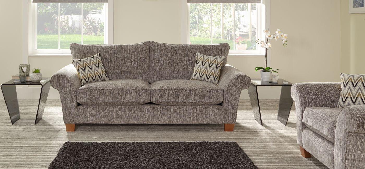 Scs sofa carpet specialist playroom pinterest fabric sofa the laguna 3 seater standard back fabric sofa is manufactured in the uk with fibre filled seat interiors and two wood foot options parisarafo Image collections