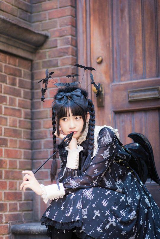 Angelic Pretty - holy lantern - gothic - halloween - bat