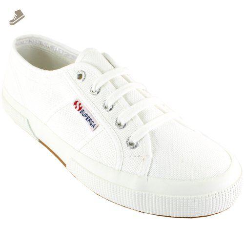 5a5aa5f3a16d4 Womens Superga Classic Cotu Canvas Retro Plimsoll Low Top Sneakers ...