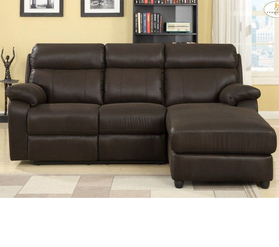9609 Gaines Sectional With Right Chaise Brown With Images