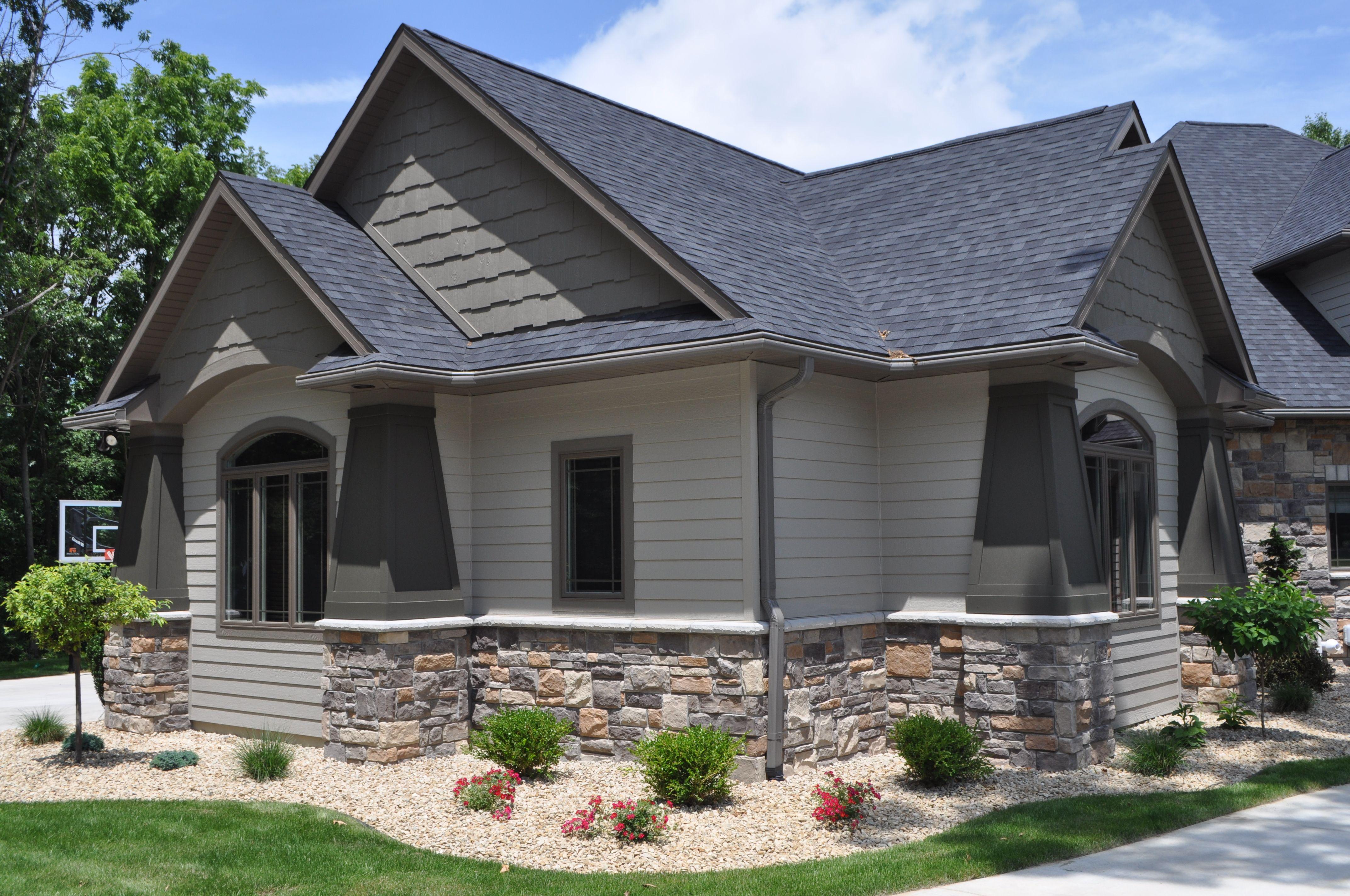 Stone Veneer | House | Pinterest