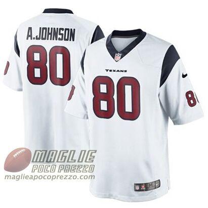 maglie basket nba poco prezzo: Maglie nfl poco prezzo A.Johnson Houston  Texans #