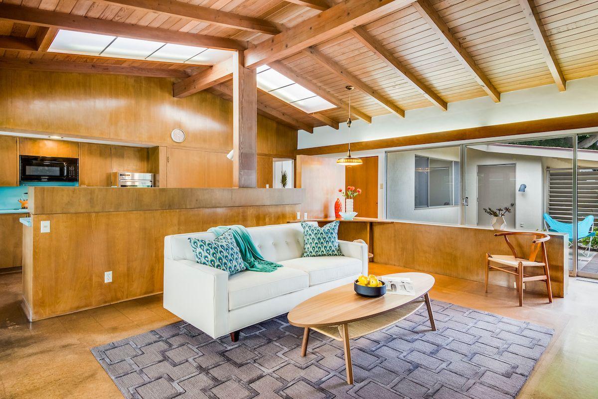 architect paul tay midcentury modern living room long beach mid rh pinterest com