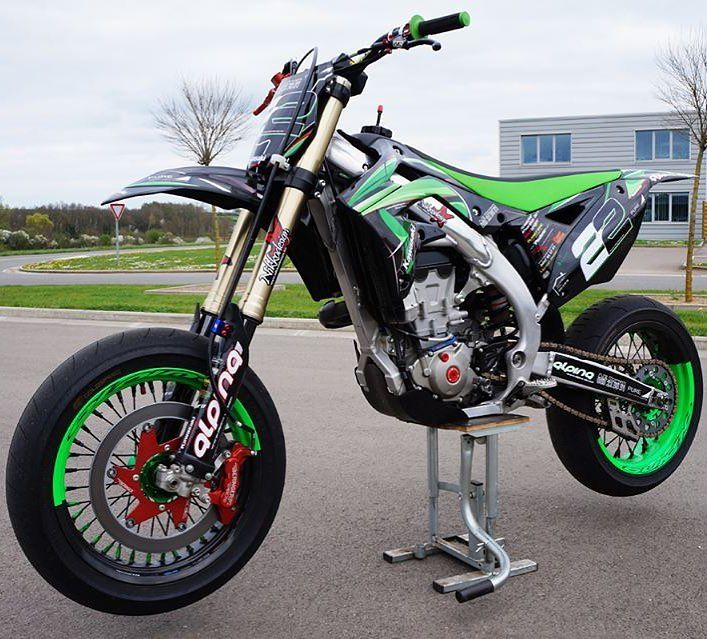 beast kawasaki kxf supermoto supermotard motard. Black Bedroom Furniture Sets. Home Design Ideas