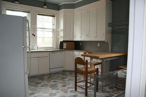 Paint Linoleum Kitchen Floors | Painted linoleum, Linoleum kitchen ...