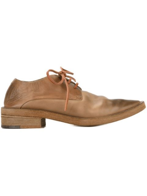 Clearance Online Ebay Online Store pointed toe lace-up shoes - Brown Marsèll Exclusive PKHhxPnF