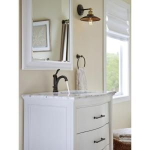 Delta Porter Single Hole Single-Handle Bathroom Faucet in Oil Rubbed ...