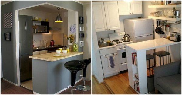 Decoración de cocinas pequeñas. Ideas para cocinas pequeñas. | Isa ...