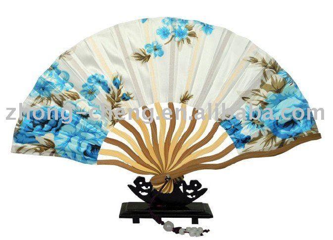 hand fan bamboo
