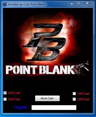 gerador de cash para point blank