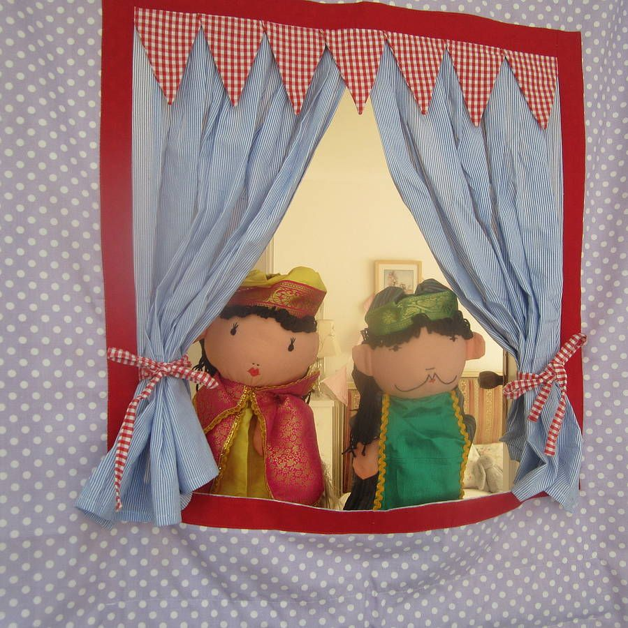 doorway puppet theatre can be personalised by the fairground | notonthehighstreet.com