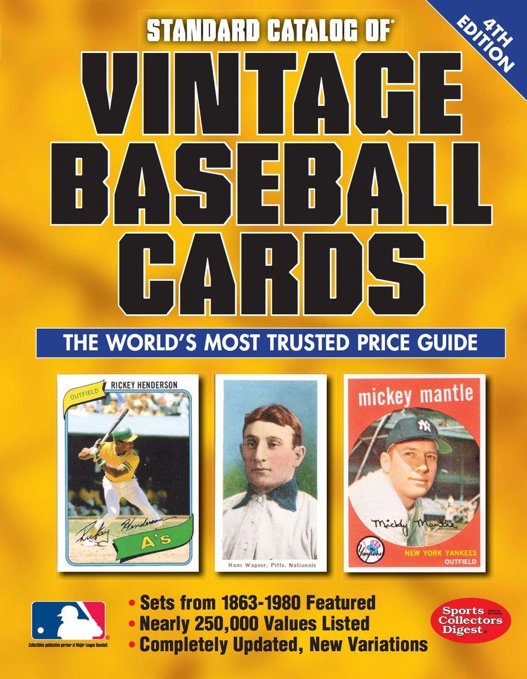 Standard Catalog of Vintage Baseball Cards (eBook) in 2020